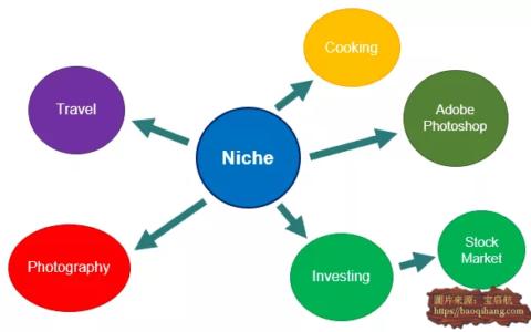 想在网上赚美元的朋友需要懂得什么是niche利基